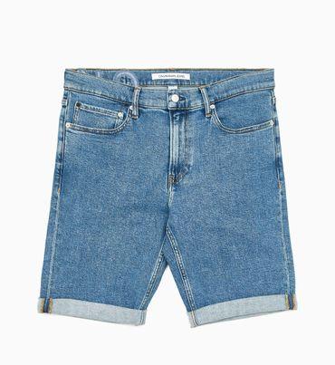 Shorts-Slim-de-Mezclilla