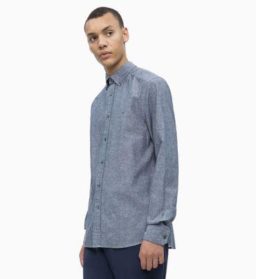 Camisa-de-Popelin-de-Algodon-y-Lino