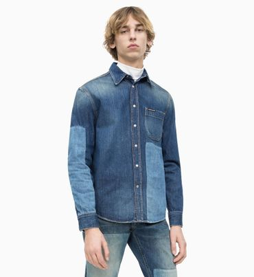 Camisa-de-Mezclilla-Color-Block