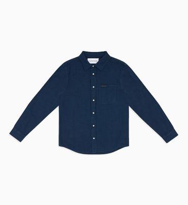Camisa-De-Cambray-Indigo---Calvin-Klein
