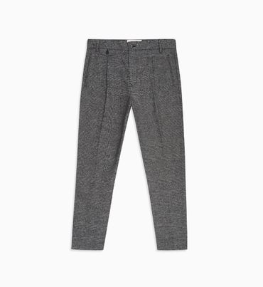 Pantalones-A-Cuadros-Tapered-Fit---Calvin-Klein