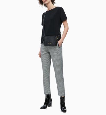 Pantalones-Slim-De-Franela-A-Cuadros---Calvin-Klein