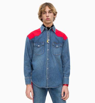 Camisa-Denim-Western-Oversized
