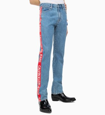 CKJ-035-Straight-Taped-Jeans
