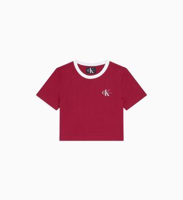Playera-Cropped-Con-Logo-Calvin-Klein