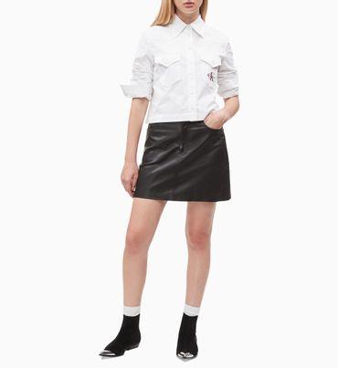 Camisa-Corta-De-Saten-Calvin-Klein