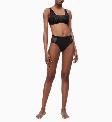 Bikini-Brasileño-De-Talle-Alto---Ck-Black-Calvin-Klein