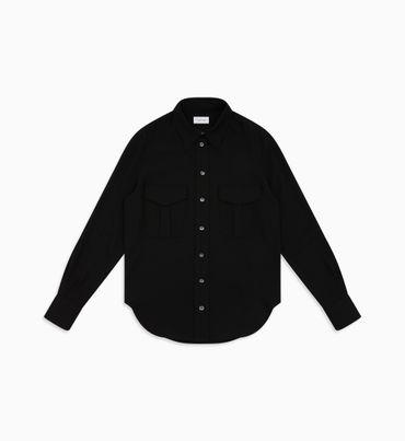 Camisa-De-Sarga-Con-Bolsillo-Calvin-Klein