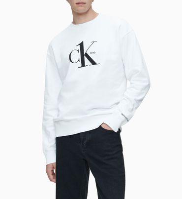 Sudadera-de-algodon-organico-con-logo---CK-ONE-Calvin-Klein