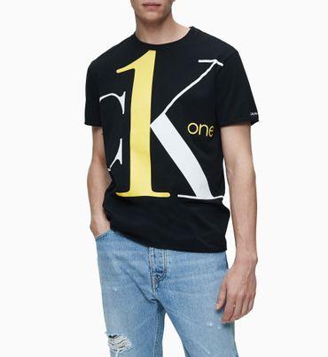 Playera-de-algodon-organico-con-logo---CK-ONE-Calvin-Klein
