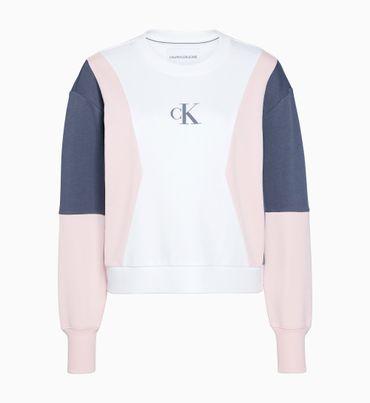 Sudadera-oversized-color-block-Calvin-Klein
