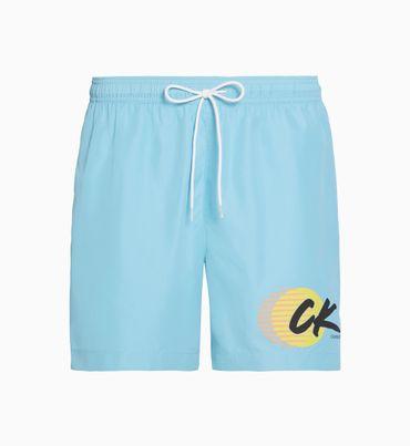 Traje-de-Baño-de-largo-medio-con-cordon---CK-Wave-Calvin-Klein