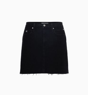 Minifalda-denim-de-tiro-alto---CK-ONE-Calvin-Klein