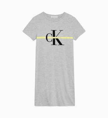 Vestido-Camisero-con-Logo-y-Ajuste-Regular-Calvin-Klein
