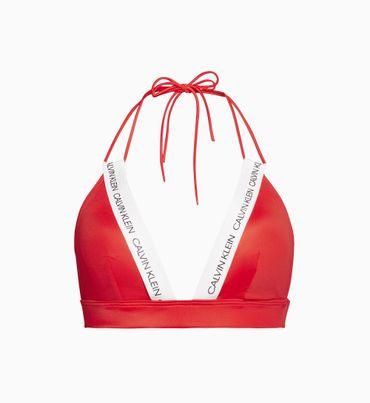 Parte-de-Arriba-de-Bikini-de-Triangulo---Ck-Logo-Calvin-Klein