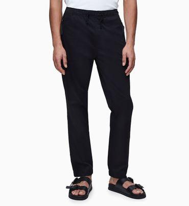 Pantalones-de-Algodon-Elastico-con-Cordon-Calvin-Klein