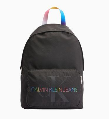 Mochila-redonda-unisex-con-logo-de-arcoiris-Calvin-Klein