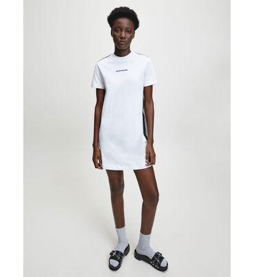 Vestido-Camisero-con-Logo-Calvin-Klein