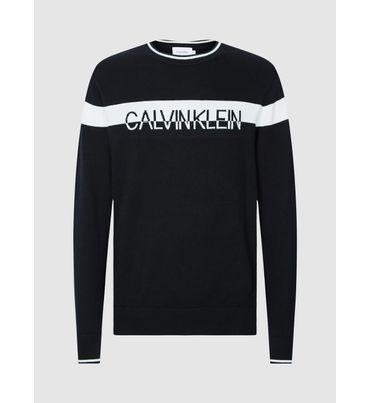 Sueter-con-Logo-de-algodon-y-Nylon--Calvin-Klein