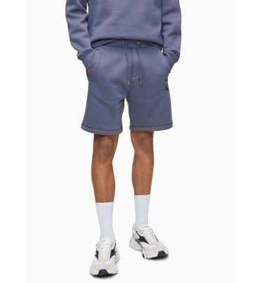 Shorts-de-chandal-de-felpa-Calvin-Klein