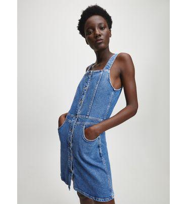 Vestido-sin-mangas-con-botones-Calvin-Klein