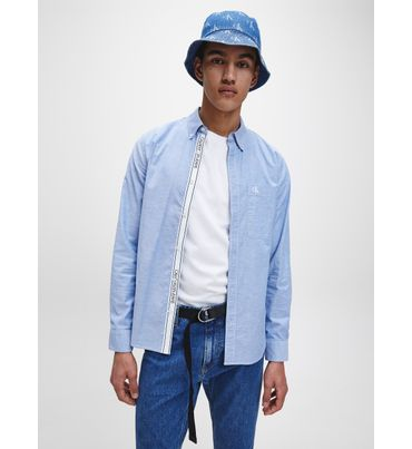 Camisa-Slim-Fit-Bolsillo-Calvin-Klein