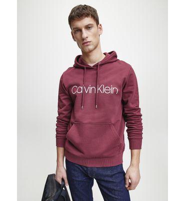 Sudadera-de-algodon-con-Logo-Calvin-Klein