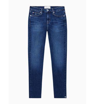 Jeans-Skinny-Tobilleros-Con-Tiro-Medio--Calvin-Klein