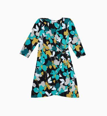 Vestido-Corto-Floral-Calvin-Klein