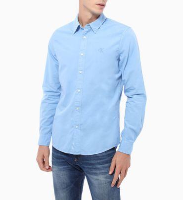 Camisa-Manga-Larga-Con-Logo-Calvin-Klein