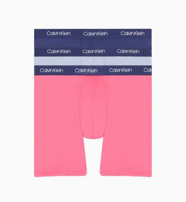 Pack-de-4-Boxers-Brief---Microfiber-Calvin-Klein