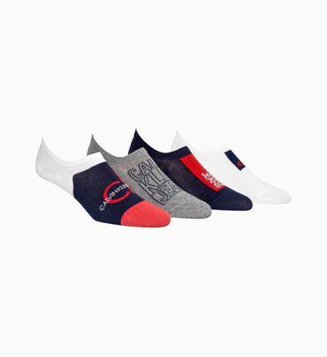 Set-regalo-con-4-pares-de-calcetines-invisibles-Calvin-Klein
