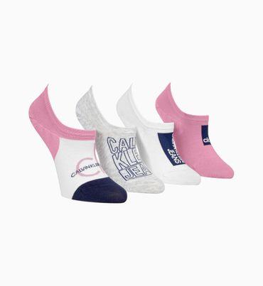 Set-regalo-con-4-pares-de-calcetines-invisibles-con-el-logo-Calvin-Klein