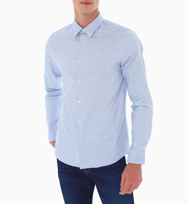 Camisa-Manga-Larga-Con-Puntos-Calvin-Klein