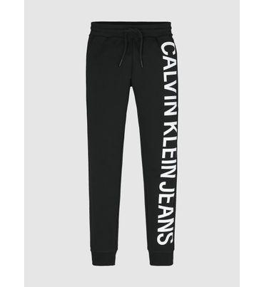 Pants-Elastico-Slim-Con-Logo-Para-Niño-Calvin-Klein