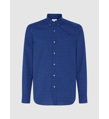 Camisa-De-Cuadros-De-Mezcla-De-Algodon-Sostenible-Calvin-Klein