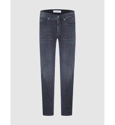 Jeans-Slim-Y-Tobilleros-De-Tiro-Medio-Calvin-Klein