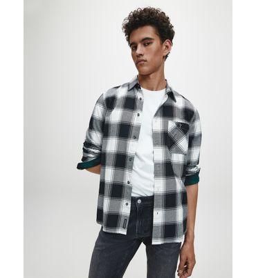 Camisa-De-Cuadros-De-Algodon-Reciclado-Calvin-Klein