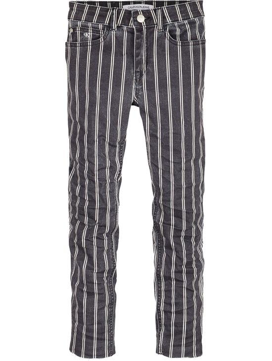 Jeans-tiro-alto-para-Niña-Calvin-Klein