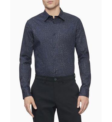 Camisa-Stretch-de-algodon-dobby-Calvin-Klein
