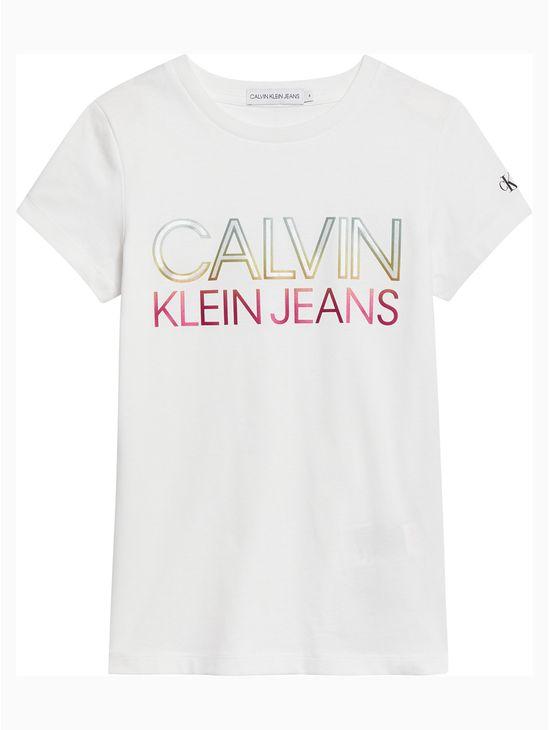 Playera-con-logo-gradiente-para-niña-Calvin-Klein