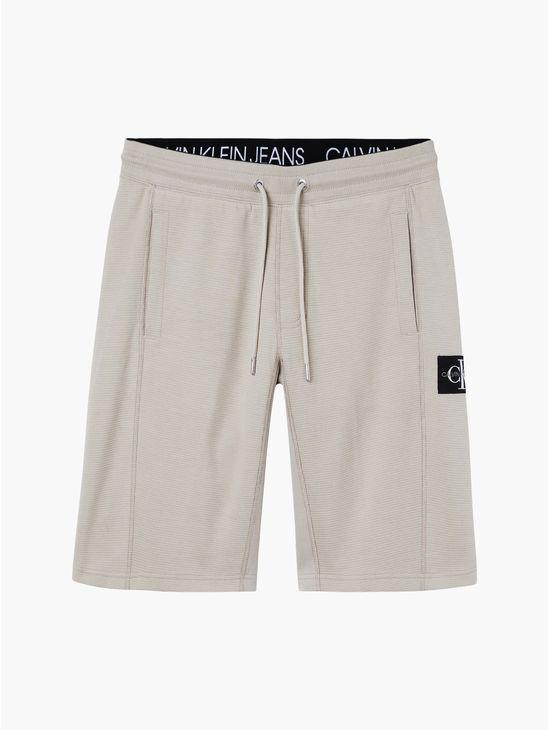Shorts-de-chandal-de-punto-gofrado-Calvin-Klein