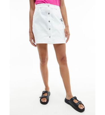 Minifalda-abotonada-Calvin-Klein