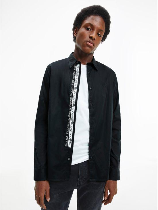 Camisa-slim-de-algodon-organico-elastico-Calvin-Klein