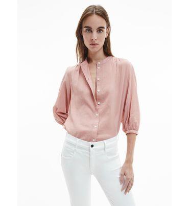 Blusa-de-algodon-texturizado-Calvin-Klein