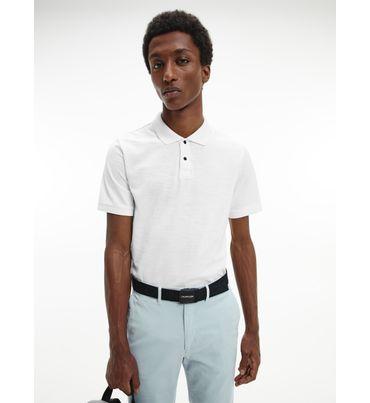 Polo-slim-de-algodon-texturizado-Calvin-Klein