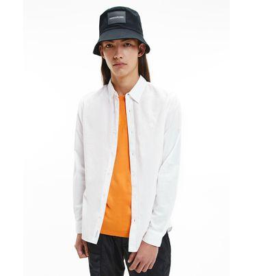 Camisa-de-lino-y-algodon-Calvin-Klein