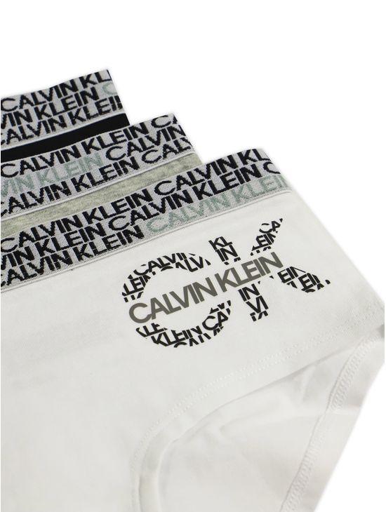 Paquete-de-3-panties---Stretch-Cotton-para-niña-Calvin-Klein