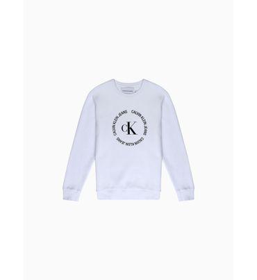 Sudadera-con-monograma-circular-Calvin-Klein