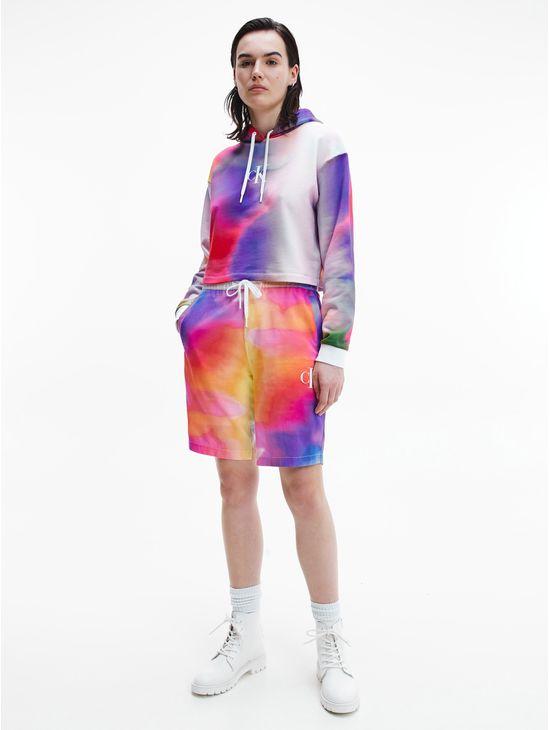 Sudadera-de-algodon-organico-con-gorro-y-estampado-en-toda-la-prenda---Pride-Calvin-Klein